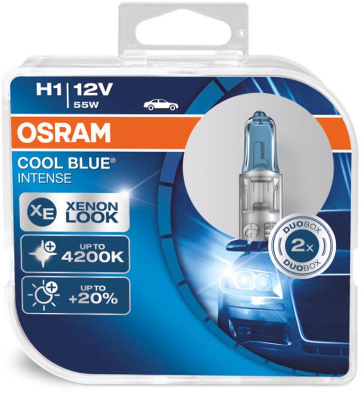 Osram H1 Cool Blue Intense pærer sæt (2 stk) pakke thumbnail