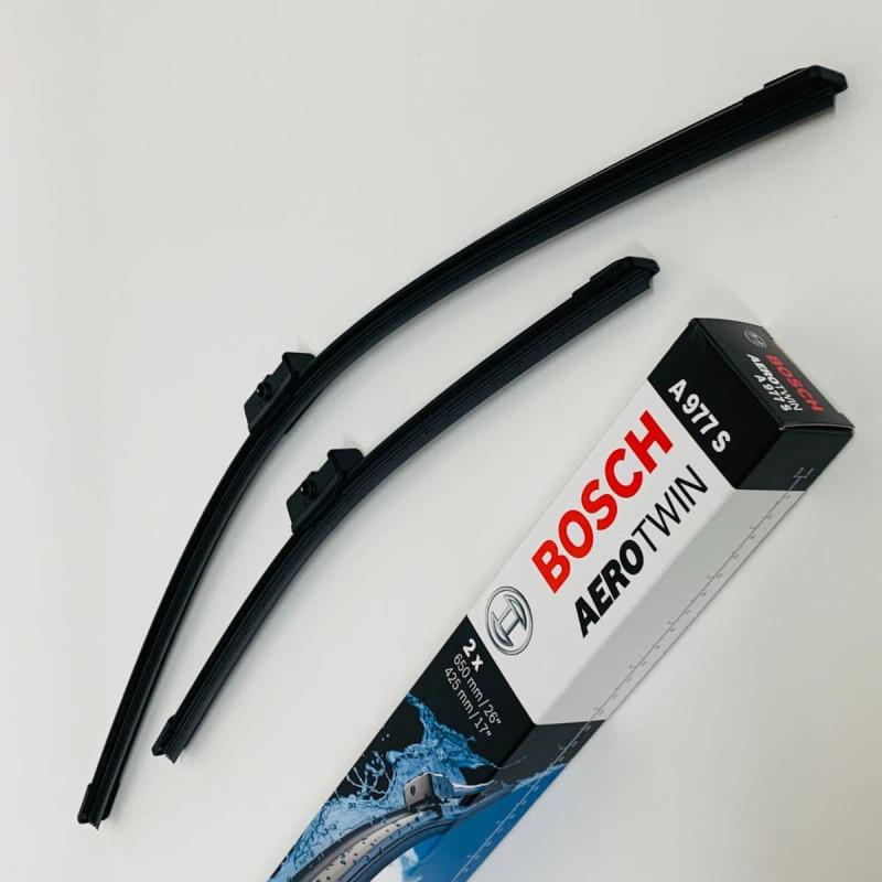 A977S Bosch Aerotwin Vinduesvisker / Fladblade sæt 65+42,5cm, til Peugeot 207 m.fl. thumbnail