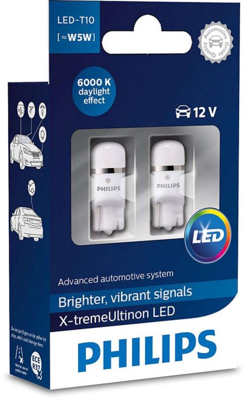 Philips X-treme Ultinon W5W LED, 6000K,  pærer med op til 12 års levetid thumbnail